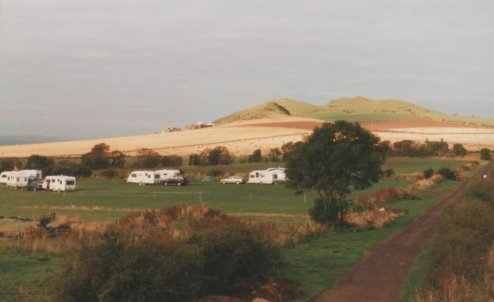 An Early Photograph of Forth House Caravan Site